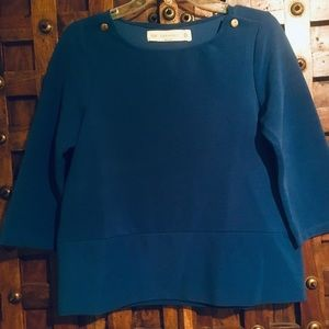 Zara Blouse blue❤️OFFERS ARE WELCOMED❤️